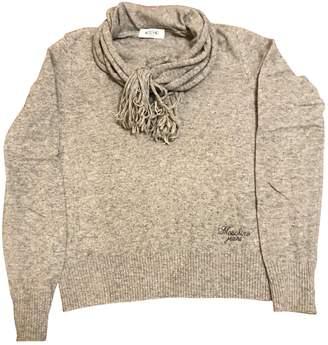 Moschino Grey Wool Knitwear for Women