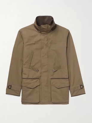 JAMES PURDEY & SONS Dry Wax Cotton-Blend Jacket