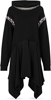 Christopher Kane Hooded Embellished Dress