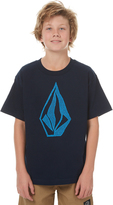 Volcom Boys Creeper Tee Blue