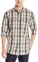 Carhartt Men's Force Mandan Plaid Long-Sleeve Shirt