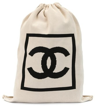 Chanel Pre Owned 2005 Sport CC drawstring backpack
