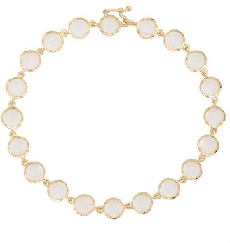 Irene Neuwirth 18kt Yellow Gold Rainbow Moonstone Bracelet