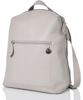 PacaPod Hartland Leather Convertible Diaper Backpack