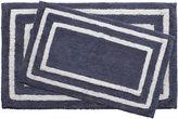 Asstd National Brand Jean Pierre Double Border Reversible Cotton 2-pc. Bath Mat Set