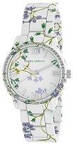 Laura Ashley Women's LA31018B Analog Display Japanese Quartz White Watch