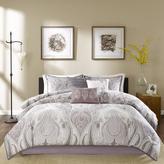 Madison Park Samir Purple Comforter Set - Queen