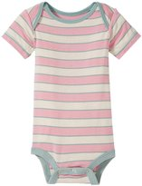 Kickee Pants Print One Piece (Baby) - Girl Musical Stripe-6-12 Months