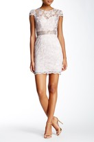 Minuet Cap Sleeve Lace Sheath Dress