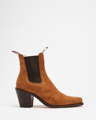 R.M. Williams R.M.Williams - Women's Brown Chelsea Boots - Maya Ankle Boots - Women's - Size 8 at The Iconic