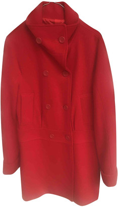 Adolfo Dominguez Red Wool Coats