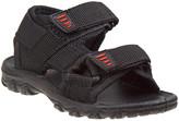 Beverly Hills Polo Club Boys' Sandals BLK - Black Dual-Strap Sandal - Boys