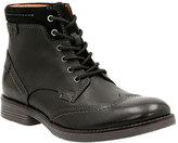 Clarks Men's Devington Hi Lace Up Ankle Boot