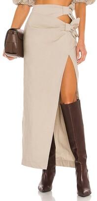 LPA Sofia Maxi Skirt