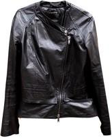 Haider Ackermann Anthracite Leather Coat for Women