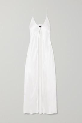 Michael Lo Sordo Silk-satin Camisole - White