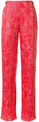 Giorgio Armani Palm Tree Print Trousers
