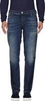 Care Label Denim pants - Item 42586000