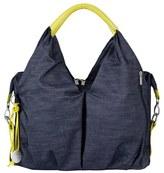 Lassig Infant Girl's 'Green Label - Neckline' Diaper Bag - Blue