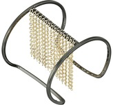 """French Connection Chain Fringe """"I"""" Cuff Bracelet"""