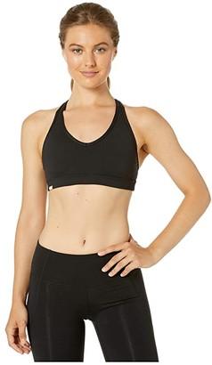 Bloch Sports Bra with Keyhole Back (Black) Women's Clothing