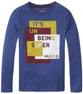 Tommy Hilfiger Th Kids Super Long Sleeve Tee
