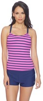 Next Synchrony Shirr Tankini Top