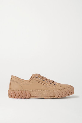 both Pop Leather Sneakers - Sand