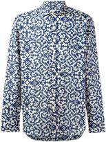 Salvatore Piccolo printed sport shirt