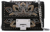 Jimmy Choo studded crossbody bag - women - Leather/Suede/metal - One Size