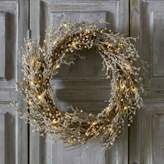 The White Company Pre-Lit Beaded Christmas Wreath