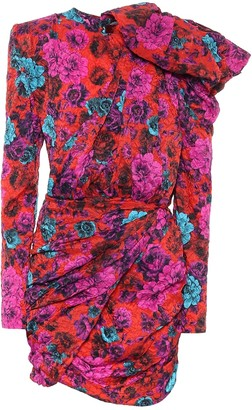 Magda Butrym Le Harve floral minidress