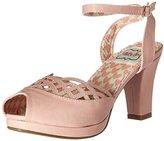 Bettie Page Women's Bp303-Darla Platform Dress Sandal