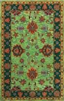 nuLoom 200SPRE21B-76096 Handmade Overdyed Traditional Wool Rug (7-Feet 6 X 9-Feet 6)