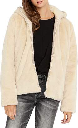 Buffalo David Bitton Reversible Faux Fur Puffer Jacket