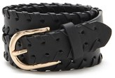 Forever 21 FOREVER 21+ Stitched Faux Leather Belt