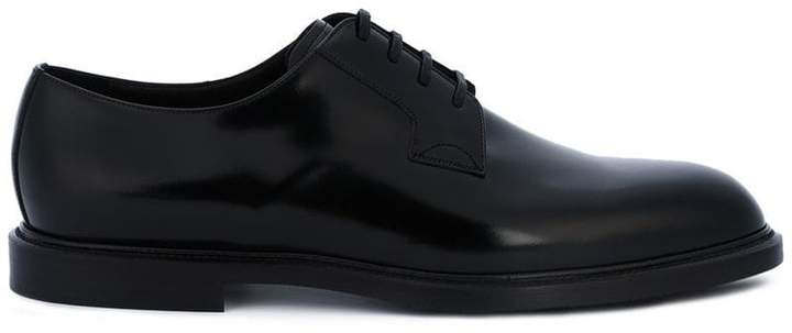 Dolce & Gabbana minimal derby shoes