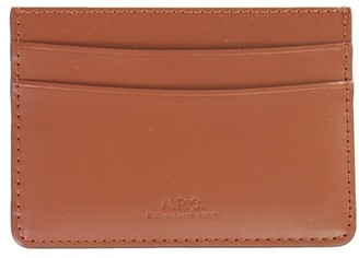 A.P.C. Andre Logo Cardholder