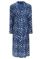 Meng Silk Twill Dressing Gown