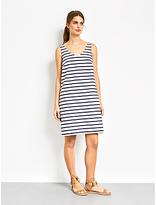 Hush Artemis Dress, Ecru/Navy