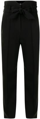 Jonathan Simkhai Remington tapered tie-waist trousers