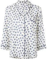 P.A.R.O.S.H. star-print pajama shirt - women - Silk - XS