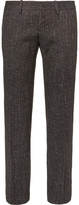 Balenciaga - Slim-fit Wool-blend Tweed Trousers