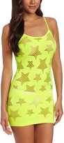 Seven Til Midnight SEVEN 'TIL MIDNIGHT Women's Star Struck Dress, Yellow, One