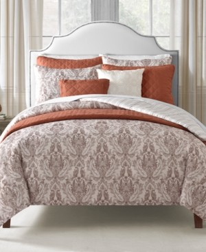 Sunham Williamsburg 8-Pc. Reversible California King Comforter and Coverlet Set Bedding