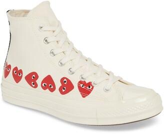 Comme des Garcons x Converse Chuck Taylor® High Top Sneaker