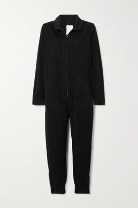 J Brand - Arkin Denim Jumpsuit - Black