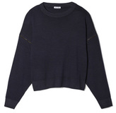 Tomas Maier Sweater with Zipper Sleeves