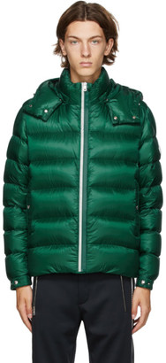 Moncler Green Down Arves Jacket
