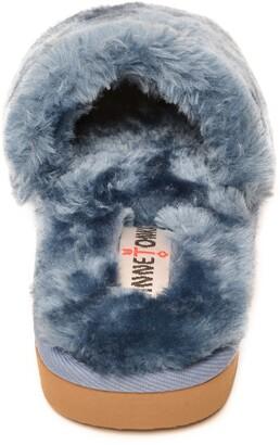 Minnetonka Faux Fur Slide Slipper